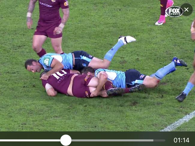 Origin highlights and more with DT smartphone video-streaming.