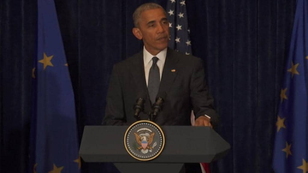"Obama ""Justice will be done"""