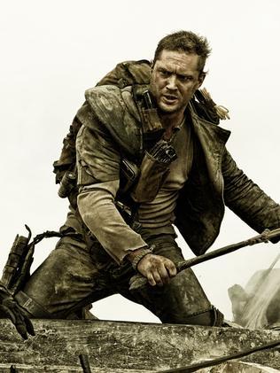 New version ... Tom Hardy in  <i>Max Max: Fury Road</i>.