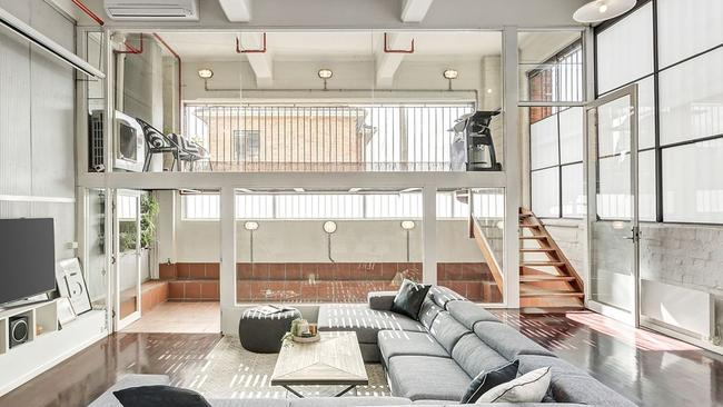 The two-bedroom apartment sold for $1.245 million at auction.