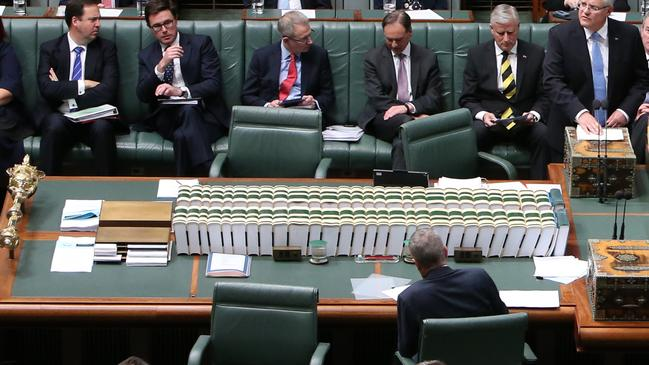 Question Time got very rowdy. Picture Kym Smith