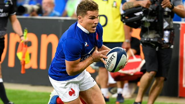 Can France's scrum-half Antoine Dupont propel his team to another giant-killing run. Picture: Bertrand Guay/AFP