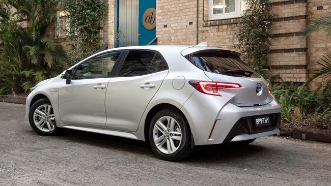 The Corolla hybrid will make you constantly aware of how fuel you use when applying different level of throttle. Picture: Supplied.
