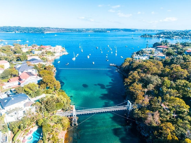 Parsley Bay at Vaucluse. Picture: @isabelladobozy