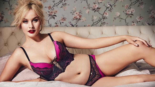 'I'm A Celebrity Get Me Out Of Here' contestant Simone Holtznagel is the new face of Bras N Things' exclusive Vamp lingerie collection.