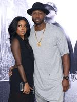 Gabrille Union, 42, and Dwayne Wade, 33, first met in 2007 while co-hosting a Super Bowl party. The actress and basketballer tied the knot in August 2014. Picture: AAP