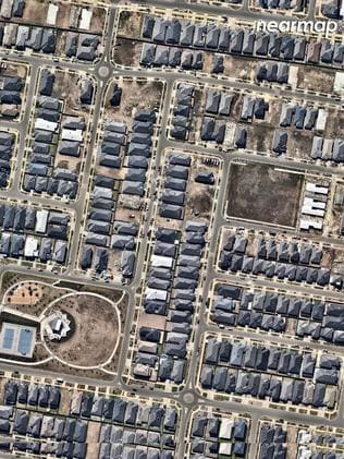 Clyde North in 2018. Picture: Nearmap