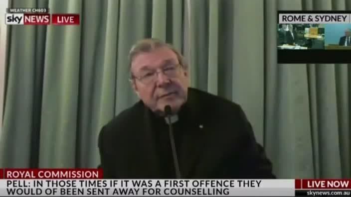 Pell: 'It's a sad story and it wasn't of much interest to me'