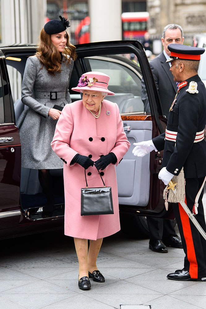 Kate Middleton and the Queen make their first-ever solo outing together