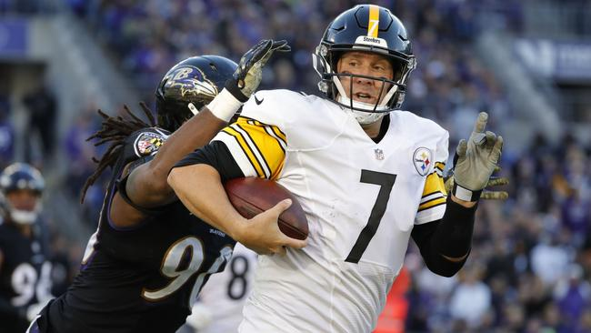 Quarterback Ben Roethlisberger #7 of the Pittsburgh Steelers. Picture: Getty Images