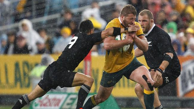 James Slipper had a storming game for the Wallabies in the Bledisloe Cup opener.