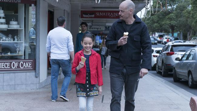 Mr Inbetween was shot on the streets of Sydney.