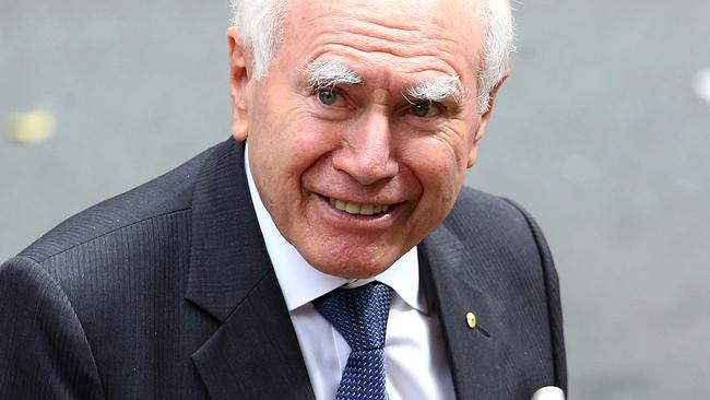 Former prime minister John Howard. Picture: AAP