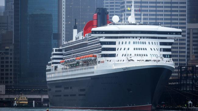 The Queen Mary 2 will skip its scheduled stops in Singapore and Hong Kong. Picture: Tim Hunter