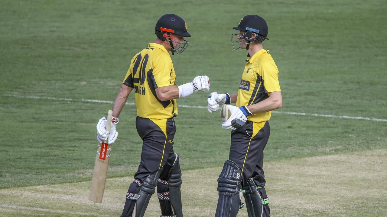 Shaun Marsh and Cameron Bancroft combined well for the Warriors