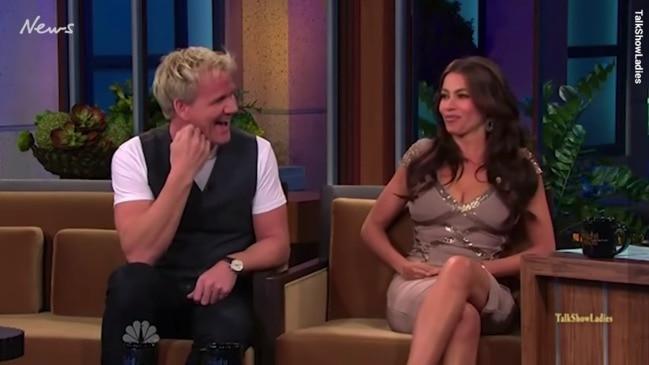 Gordon Ramsay slammed for uncomfortable Sofia Vergara interview in 2010