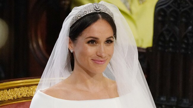 This tiara was allegedly not Meghan's first choice. (Photo by Jonathan Brady - WPA Pool/Getty Images)