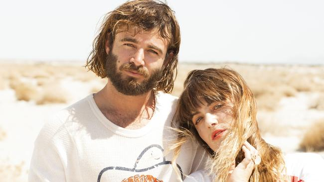Third album ... Angus and Julia Stone were brought back together by American music guru Rick Rubin.