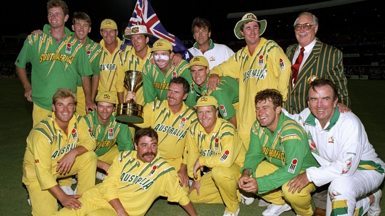 Australia was not the only team rocking lightning at the time.