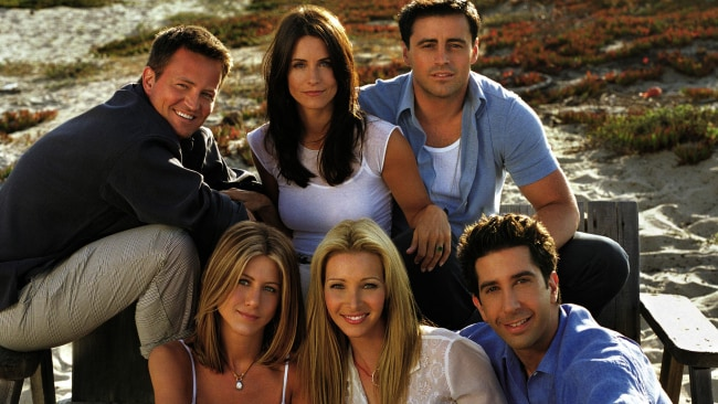 The cast of 'Friends' don't have to work again for several lifetimes. Source: Supplied