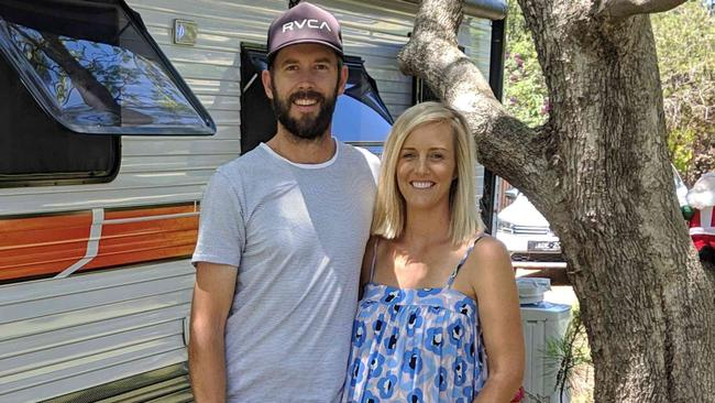 Kim and Claire McLeod use Camplify to generate income from their caravan.
