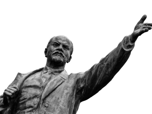 'At least, unlike Lenin (pictured) … I had the good grace to actually be poor,' writes Joe Hildebrand.