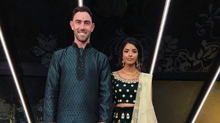 Glenn Maxwell celebrates upcoming nuptials with 'Indian engagement'