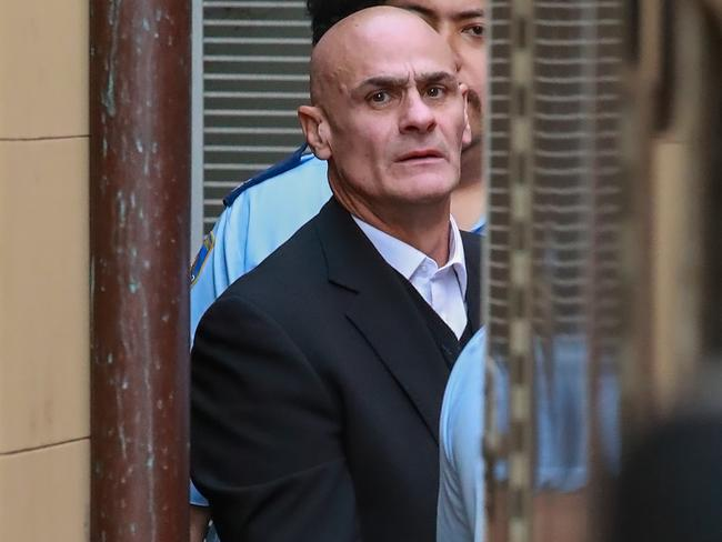 Vinzent Tarantino leaving court after giving evidence in the murder trial of schoolgirl Quanne Diec. Picture: Justin Lloyd