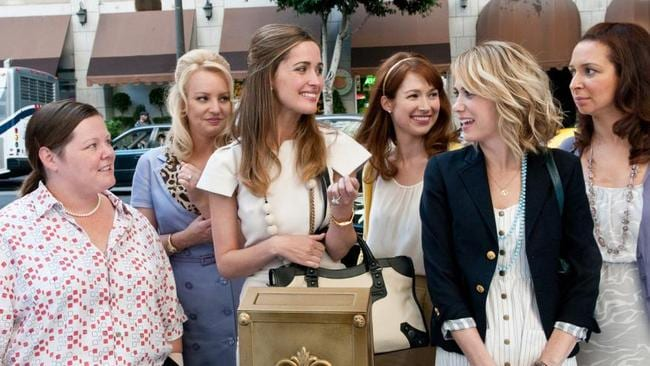 The Aussie first turned heads with her comic chops in Bridesmaids.
