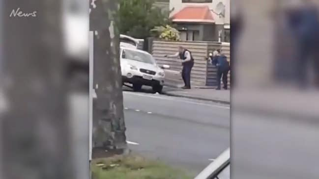 Footage Of Christchurch Shooting Wikipedia: Christchurch Mosque Shooting: Gunman Posts Manifesto