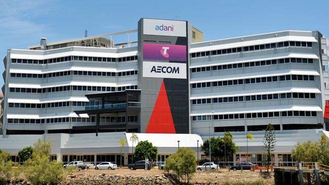 Adani headquarters in Townsville.