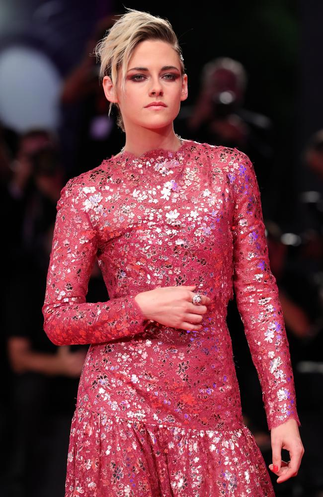Kristen Stewart walked the red carpet in Venice for a screening of her new movie, Seberg. Picture: Getty Images