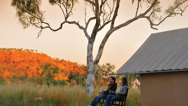 Bell Gorge Wilderness Lodge, Kimberley. Picture: Supplied