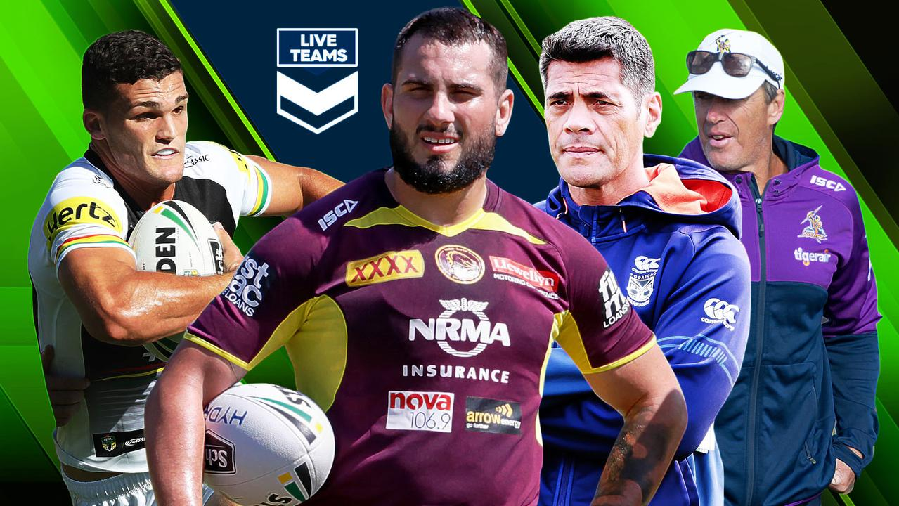 Jack Bird and Nathan Cleary feature in NRL Teams.