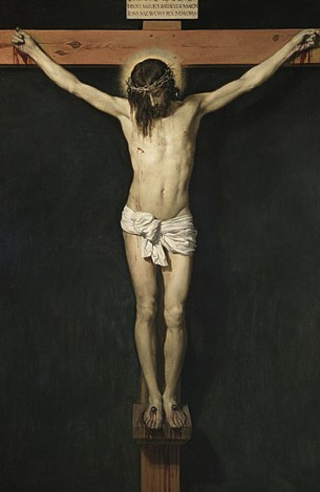 Christ Crucified, painting by Diego Velasquez, which hangs in the Prado Museum in Madrid.