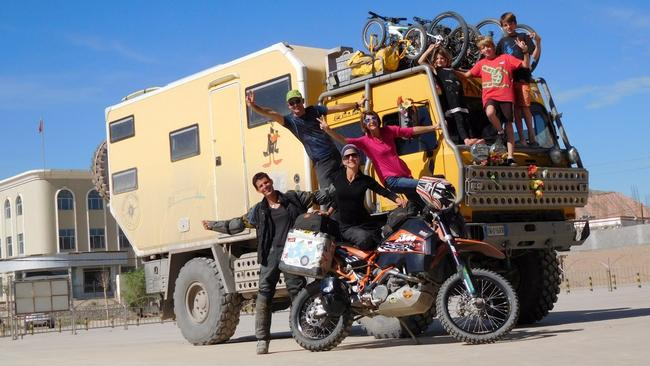 Adelaide couple's 64,000km journey to Europe by motorbike