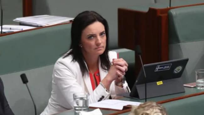 Ms Husar announced she would quit politics in August following an investigation into claims she bullied staff, but has since changed her mind. Picture: Kym Smith Source: News Corp Australia