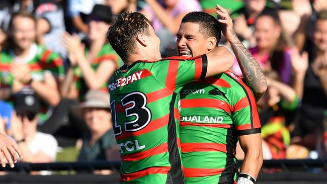 South Sydney face the Sharks to open their account. Picture: Darren England