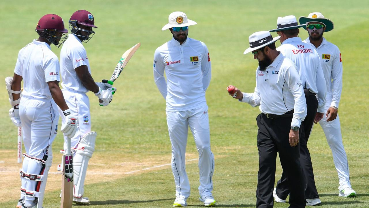 Sri Lanka captain Dinesh Chandimal was given a one-Test ban for ball-tampering in June.