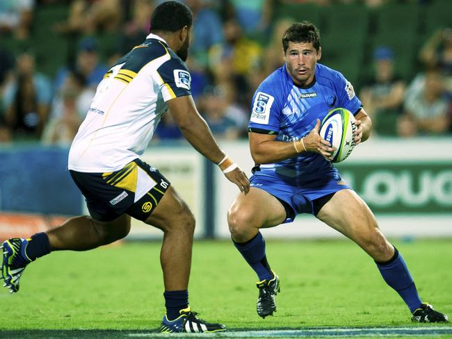 Nathan Charles' performances for the Western Force have catapulted him in to Wallabies contention. Picture: AP Photo/Western Force, True Spirit Photos, Gordon Pettigrew.