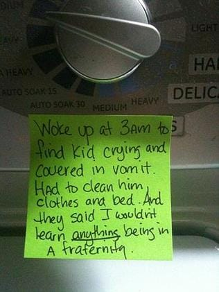 The skills you learn as a stay-at-home dad ... Picture: Chris Illuminati