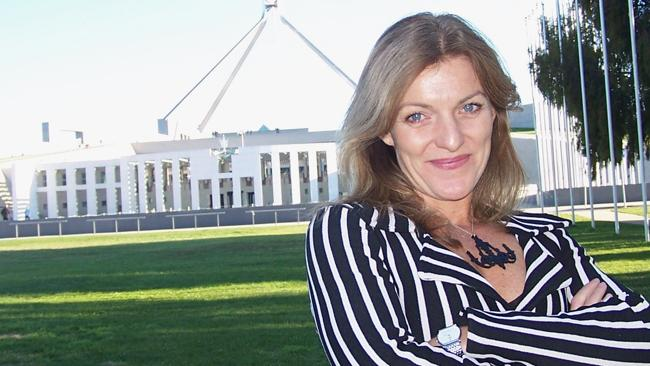Fiona Patten, convenor of The Australian Sex Party, in Canberra.