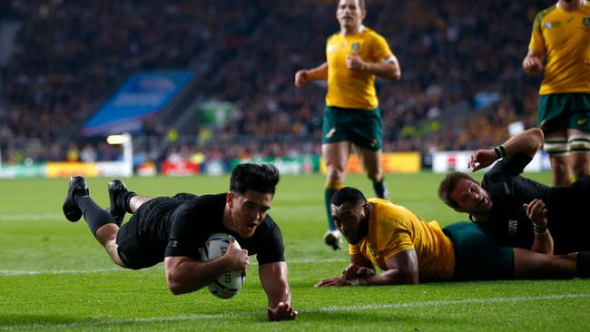 Nehe Milner-Skudder will play his first Test since the 2015 Rugby World Cup final against Argentina.