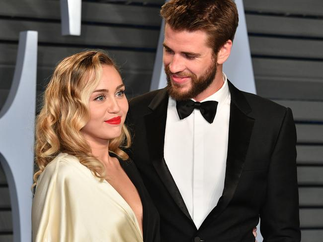 Cyrus and Hemsworth married last year. Picture: Dia Dipasupil/Getty Images