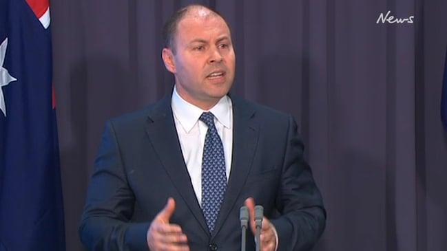 Treasurer cops awkward question over economic crisis