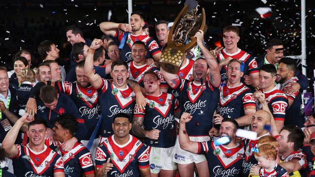 bc406e5839a NRL grand final 2018: Roosters clinch premiership, Cronk battled ...