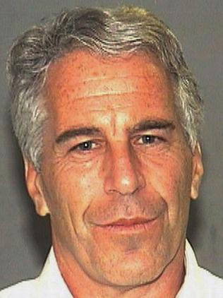 Convicted paedophile Jeffrey Epstein. Picture: AP Photo/Palm Beach Sheriff's Office