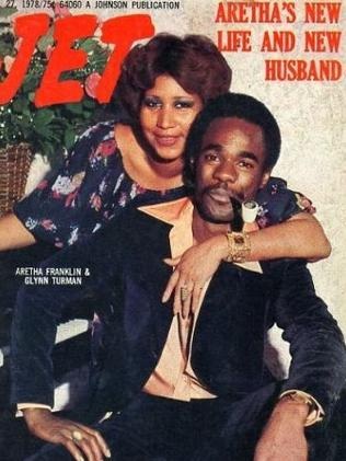 Aretha Franklin and her second husband Glynn Turman. Picture: Jet
