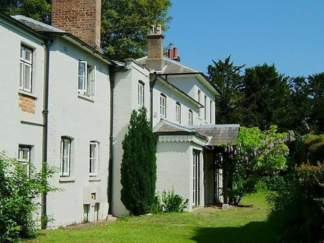 Frogmore Cottage is currently being renovated for Meghan and Harry's big move. Picture: Supplied