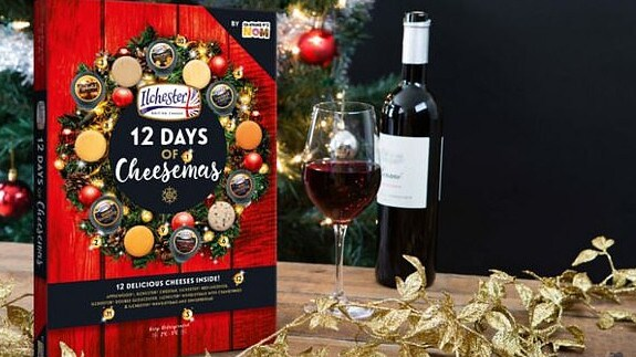 Woolworths also released a bargain 12 Days of Cheesemas advent calendar for just $16.